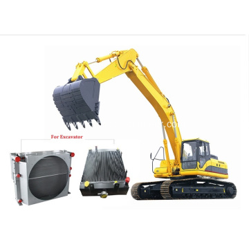 Aluminium Plate Bar Coolers of Excavator